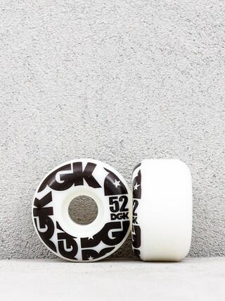 Kółka DGK Street Formula (white/black)