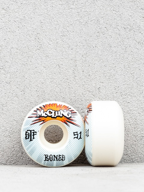 Kółka Bones Mc Clung Blast Formula V1 (white)
