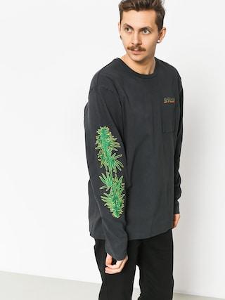 Bluza Stussy Leaves Ls (charcoal)