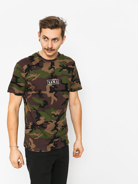 T-shirt Vans Vans Easy Box (camo/white)