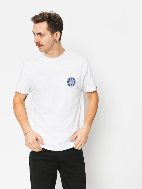 T-shirt Vans Checker Co (white)