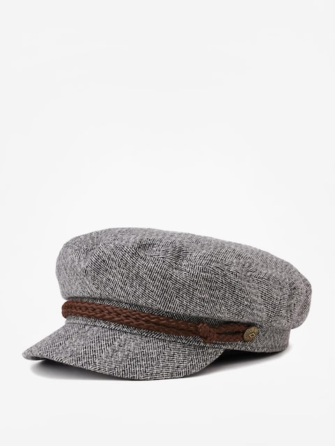 Bosmanka Brixton Fiddler Cap (heather grey/cream)