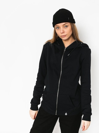 Bluza z kapturem Volcom Walk On By ZHD Wmn (blk)