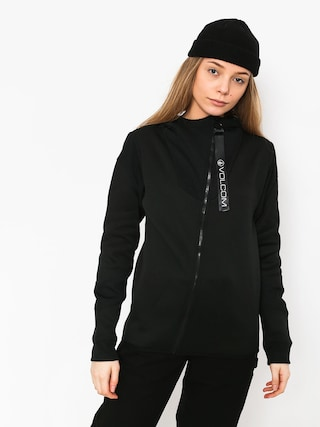 Bluza Volcom Walk On By Tech Wmn (blk)