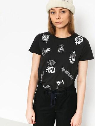 T-shirt Volcom Last Party Wmn (blk)