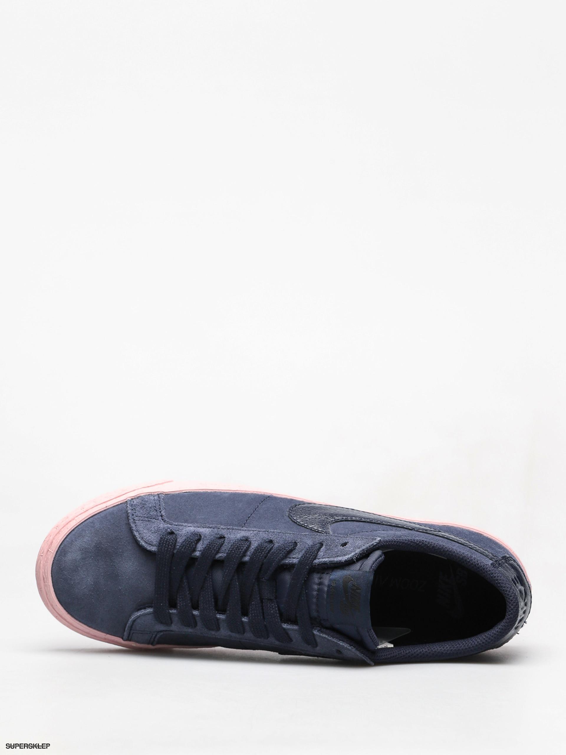 Buty Nike SB Sb Zoom Blazer Low (obsidian obsidian bubblegum) 3ff7d7964