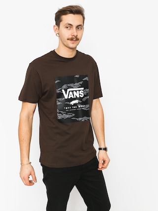 T-shirt Vans Print Box (dark chocolate)