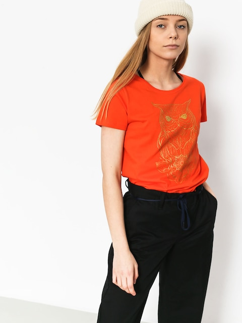 T-shirt Majesty Owl Lady Wmn (orange)