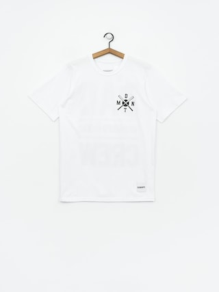 T-shirt Diamante Wear Bad Motherfuckers Wmn (white)