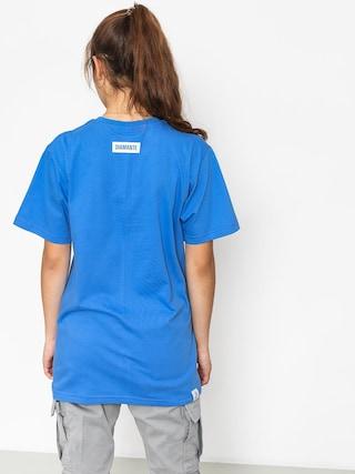 T-shirt Diamante Wear Party Hard Wmn (royal)