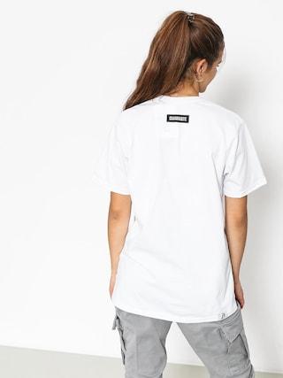 T-shirt Diamante Wear Shut Wnm (white)