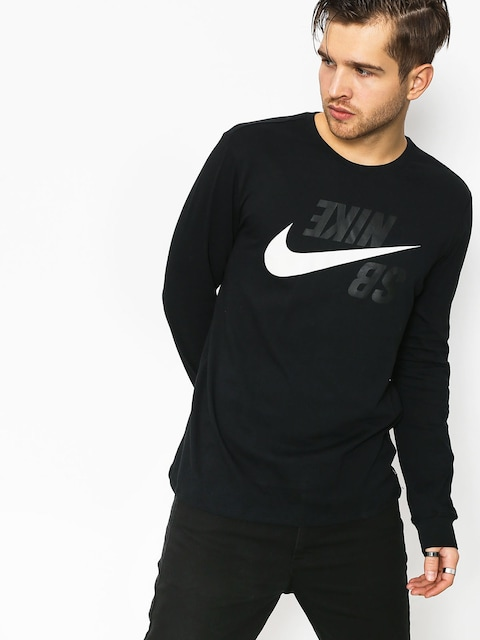 Longsleeve Nike SB Sb Backwards (black/phantom)