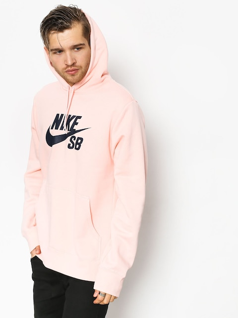 Bluza Nike SB Sb Icon (storm pink/obsidian)