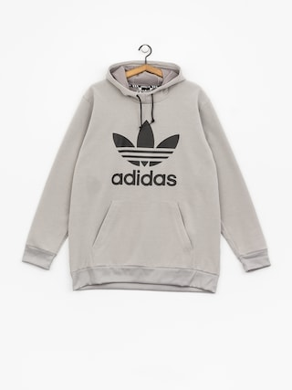 Bluza z kapturem adidas Team Tech HD (medium grey heather/black)
