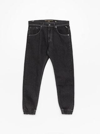 Spodnie MassDnm Base Jogger Jeans Sneaker Fit (black rinse)