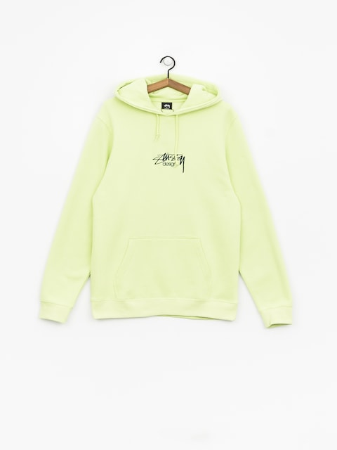 Bluza z kapturem Stussy Stussy Design App HD (pale green)