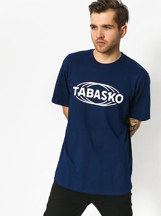 T-shirt Tabasko Globus (navy)
