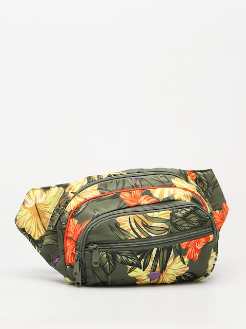 Nerka Diamond Supply Co. Aloha Floral Fanny Pack (olive)
