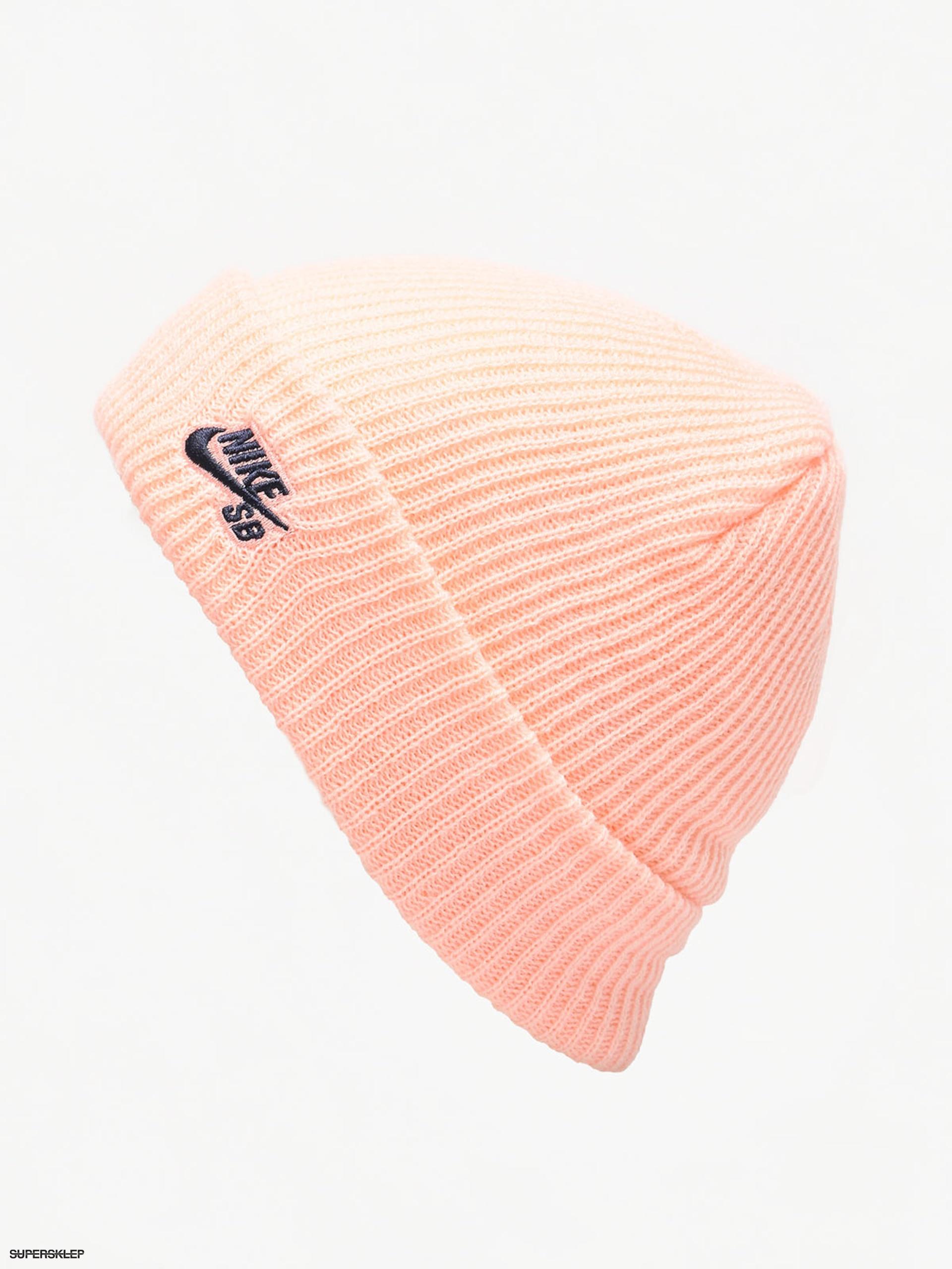 release date: bf31c 066e2 Czapka zimowa Nike SB Sb Fisherman Beanie (storm pink obsidian)