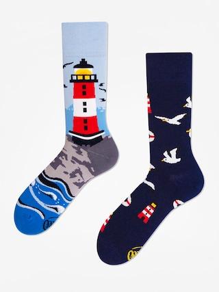 Skarpetki Many Mornings Nordic Lighthouse (navy/light blue)