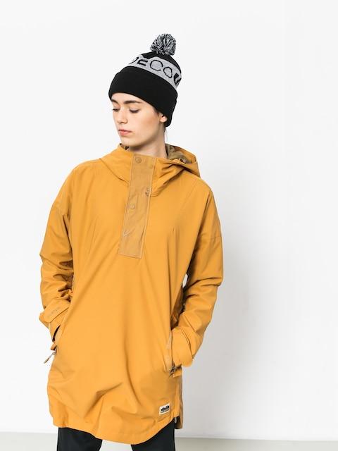 Kurtka snowboardowa Burton Chuteout Anorak Wmn (camel)