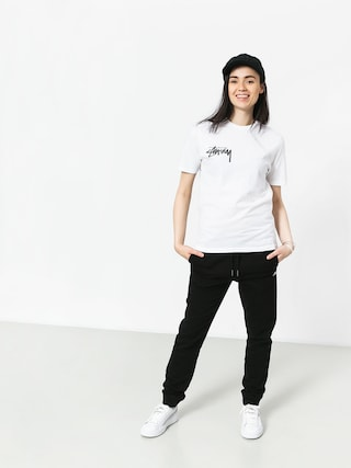 T-shirt Stussy Stock Wmn (white)
