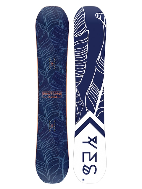Deska snowboardowa Yes Emoticon Wmn (white/navy)