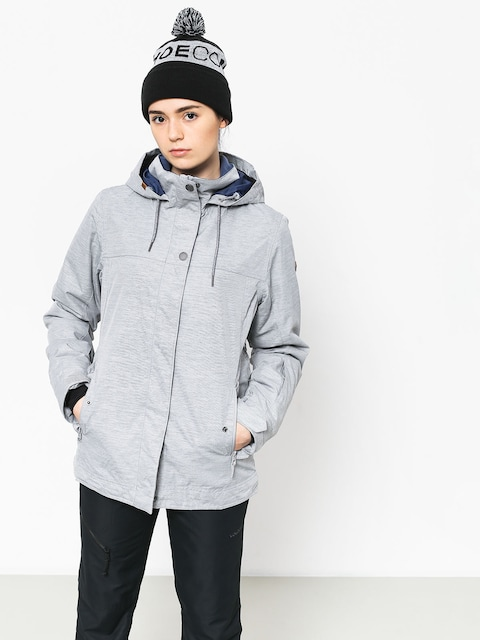 Kurtka snowboardowa Roxy Billie Wmn (warm heather grey)