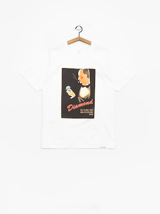 T-shirt Diamond Supply Co. Worlds Finest (white)
