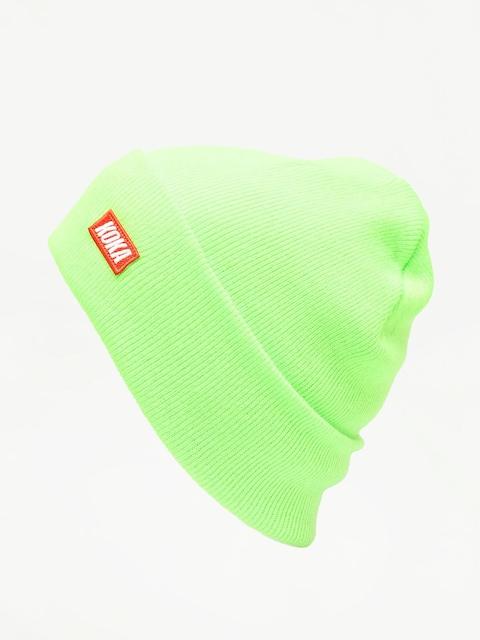 Czapka zimowa Koka Small Boxlogo (green)