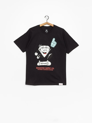 T-shirt Diamond Supply Co. Number 1 (black)