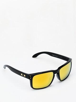 Okulary przeciwsłoneczne Oakley Holbrook (polished black/24k iridium)