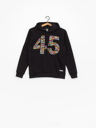 Bluza z kapturem Diamante Wear Hip Hop 45 (black)