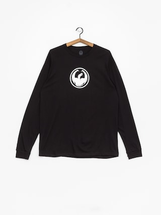 Longsleeve Dragon Icon Staple Line (black)