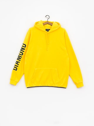 Bluza z kapturem Diamond Supply Co. Polar HD (yellow)