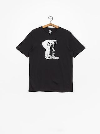 T-shirt Volcom Stone Spew Bsc (blk)