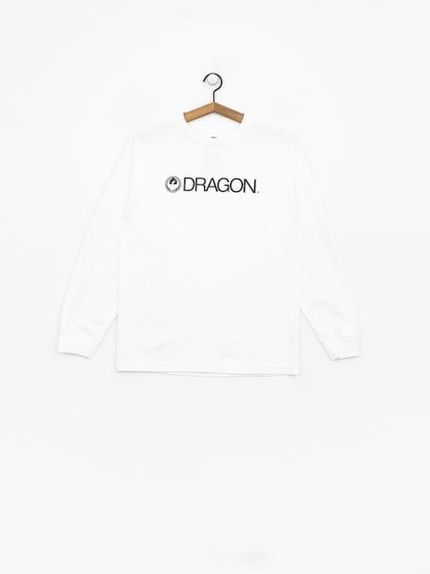 Longsleeve Dragon Trademark Staple Line (white)