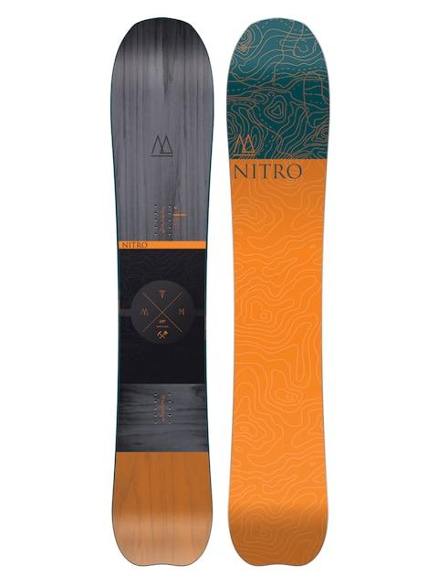 Deska snowboardowa Nitro Mountain (multi)