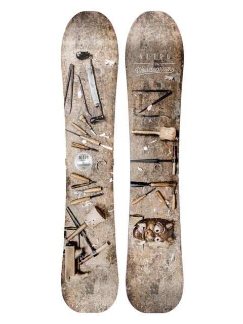 Deska snowboardowa Nitro Woodcarver