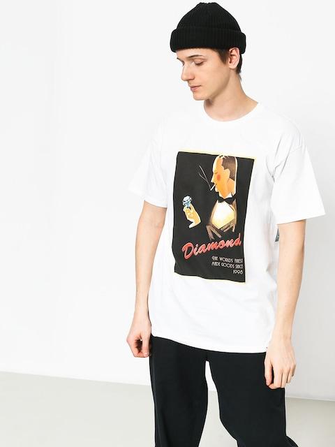 T-shirt Diamond Supply Co. Worlds Finest (white)