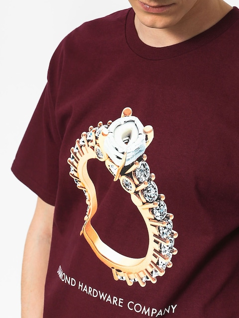 T-shirt Diamond Supply Co. Hardware Ring
