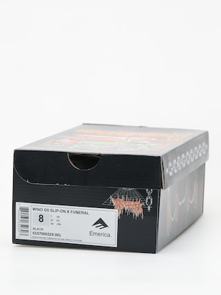 Buty Emerica Wino G6 Slip On X Funeral (black)