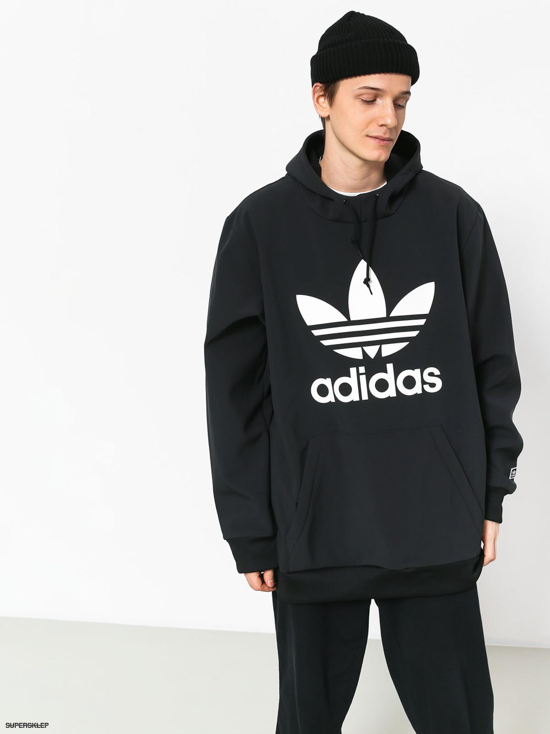 Bluza z kapturem adidas Team Tech HD (blackwhite)