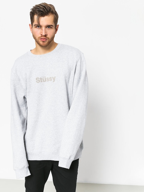 Bluza Stussy Stussy Weld App (grey heather)