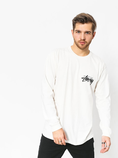 Longsleeve Stussy Stock Pig Dyed (natural)