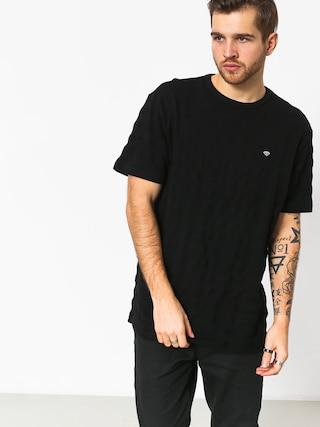 T-shirt Diamond Supply Co. Sportsman (black)