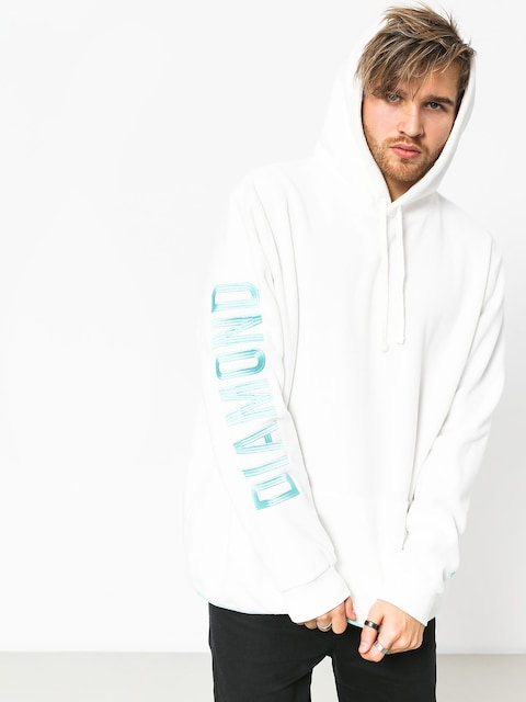 Bluza z kapturem Diamond Supply Co. Polar HD (white)