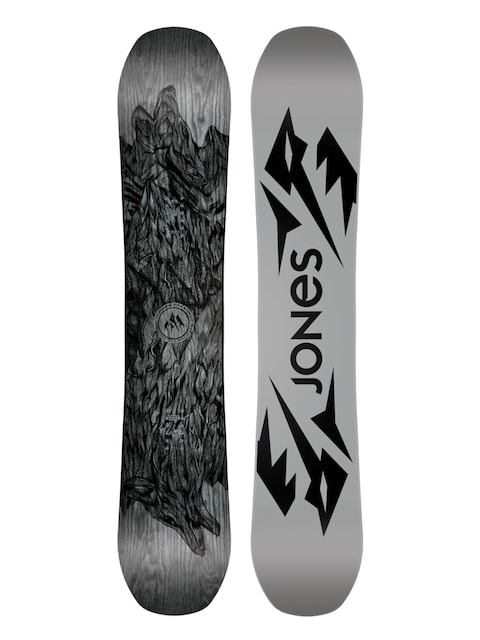 Deska snowboardowa Jones Snowboards Ultra Mountain Twin (white/black)