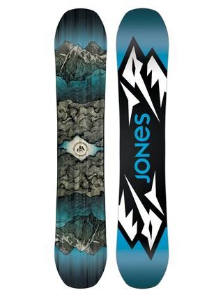 Deska snowboardowa Jones Snowboards Mountain Twin (blue/black/white)