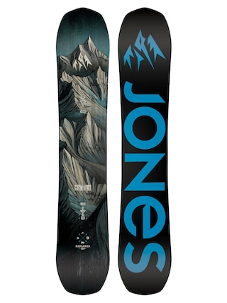 Deska snowboardowa Jones Snowboards Explorer (black/blue)